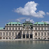 Belvedere Palace: home of Prince Eugene of Savoy, conqueror of the Turks.