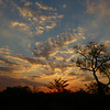 Sunset over Sabi Sands