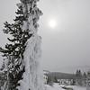 Rime Ice, Gem Pool, Yellowstone