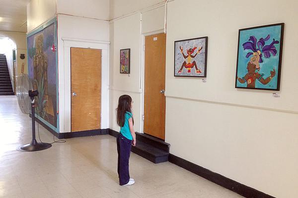 20130601 Children's Prison Arts Project exhibition