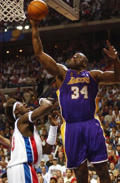 JJ Pistons vs Lakers Game 5