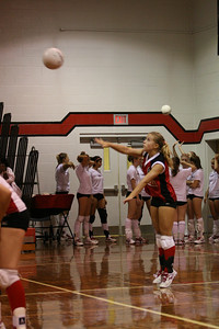 Volleyball - October 3, 2007 - Parent's Night