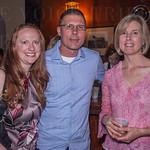 Sarah Provancher, Joe Weber and Christine Newton.