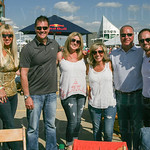 Michael and Heather James, Bryan and Karen Little, Kelly Pfeiffer, Dave Walters and John Wells.
