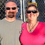 Scott Tibbetts and Wendy LaRue.