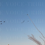 Tribute Flight with Missing Man Formation in Memory of Jay \