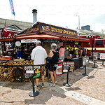 Various types of foods and fares were enjoyed by those who attended Thunder Over Louisville.