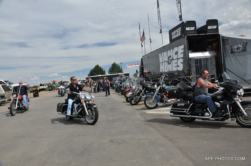 MOTOR BIKES, THUNDER IN THE ROCKIES,
