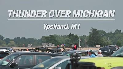 Thunderbirds Thunder Over Michigan Airshow: Ypsilanti 2021