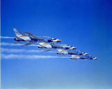 Thunderbirds F-100C 55-2728 Slot