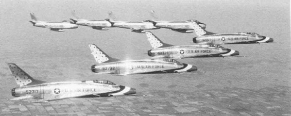 Thunderbirds and Golden Hawks 1959