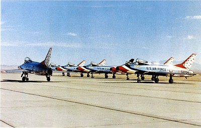 Thunderbirds F-100Cs