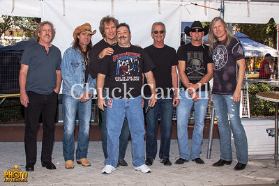 Thunder by the Bay - Meet and Greet with Outlaws - 1-12-2014  - Suncoast Charities for Children