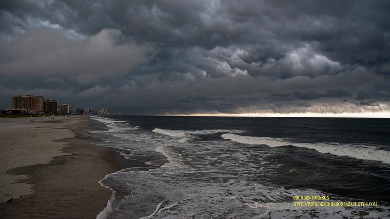 Thunderstorm Near Atlantic City New Jersey