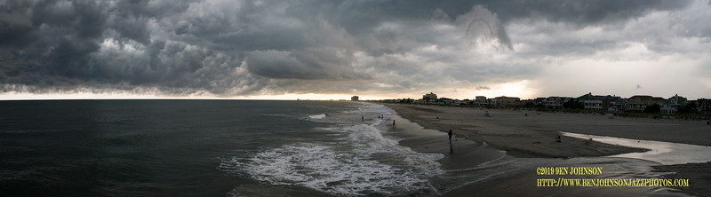 Thunderstorm Near Atlantic City New Jersey