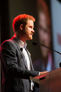 21st International AIDS Conference (AIDS 2016), Durban, South Africa. Special Session (THSS01) Ending AIDS with the Voices of the Youth: How Stigma and Discrimination Affect Key Populations HRH Prince Harry, 21 July, 2016. Photo©International AIDS Society/Rogan Ward