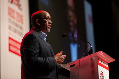 21st International AIDS Conference (AIDS 2016), Durban, South Africa. Special Session (THSS01) Ending AIDS with the Voices of the Youth: How Stigma and Discrimination Affect Key Populations Prince Seeiso Bereng Seeiso speaks, 21 July, 2016. Photo©International AIDS Society/Rogan Ward