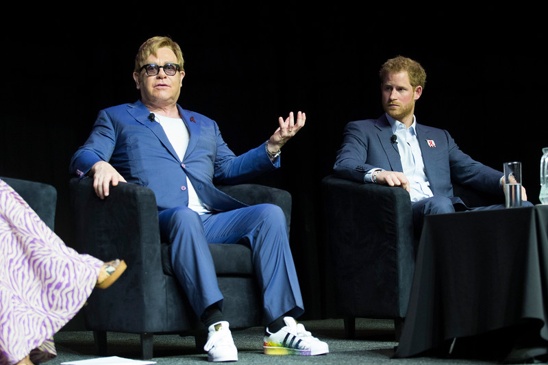 21st International AIDS Conference (AIDS 2016), Durban, South Africa. Special Session (THSS01) Ending AIDS with the Voices of the Youth: How Stigma and Discrimination Affect Key Populations Elton John and HRH Prince Harry, 21 July, 2016. Photo©International AIDS Society/Rogan Ward