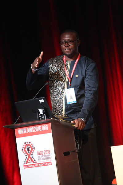 21st International AIDS Conference (AIDS 2016), Durban, South Africa.<br /> THSA06 Moving from Silos to Solidarity<br /> Thursday 21 July : Venue -Session Room 7<br /> Society for AIDS in Africa Program : Gordon Tambro<br /> Photo©International AIDS Society/Abhi Indrarajan