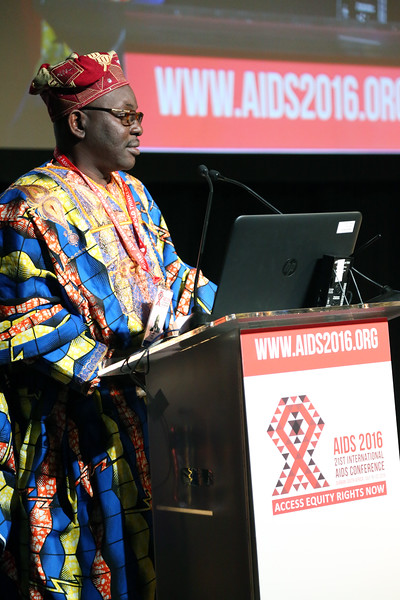 21st International AIDS Conference (AIDS 2016), Durban, South Africa.<br /> THSA06 Moving from Silos to Solidarity<br /> Thursday 21 July : Venue -Session Room 7<br /> Luc Armand Bodea<br /> Photo©International AIDS Society/Abhi Indrarajan