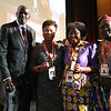 21st International AIDS Conference (AIDS 2016), Durban, South Africa.<br /> THSA06 Moving from Silos to Solidarity<br /> Thursday 21 July : Venue -Session Room 7<br /> Amadou Diagne, Barbara Lee, Olive Shisana and Luc Armand Bodea<br /> Photo©International AIDS Society/Abhi Indrarajan