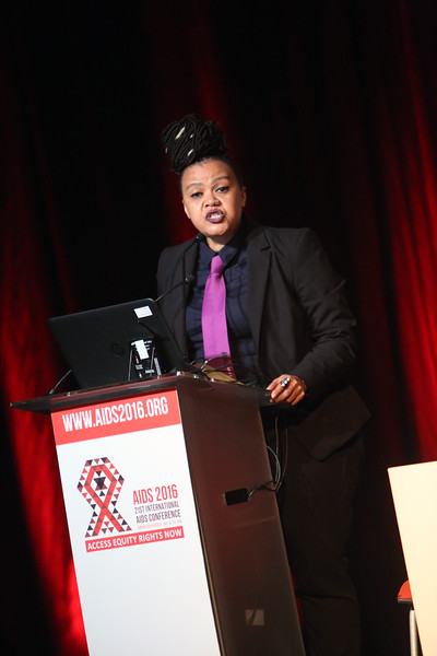 21st International AIDS Conference (AIDS 2016), Durban, South Africa.<br /> THSA06 Moving from Silos to Solidarity<br /> Thursday 21 July : Venue -Session Room 7<br /> Coalition of African Lesbian Director :  Dawn Cavanagh<br /> Photo©International AIDS Society/Abhi Indrarajan