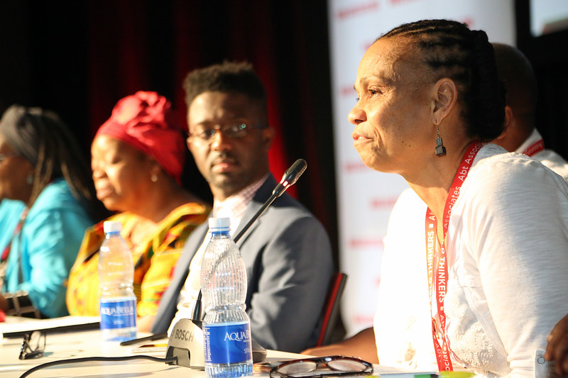 21st International AIDS Conference (AIDS 2016), Durban, South Africa.<br /> THSA06 Moving from Silos to Solidarity<br /> Thursday 21 July : Venue -Session Room 7<br /> Society for Women and AIDS in Africa Founder : Eka Esu Williams, PHD<br /> Photo©International AIDS Society/Abhi Indrarajan