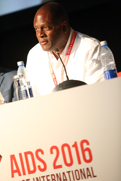 21st International AIDS Conference (AIDS 2016), Durban, South Africa.<br /> THSA06 Moving from Silos to Solidarity<br /> Thursday 21 July : Venue -Session Room 7<br /> Gilead Sciences, Inc, Senior Director Community Engagement : Douglas Brooks <br /> Photo©International AIDS Society/Abhi Indrarajan