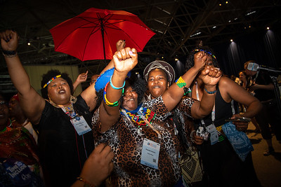 22nd International AIDS Conference (AIDS 2018) Amsterdam, Netherlands.   Copyright: Steve Forrest/Workers' Photos/ IAS  Photo shows: Special Session: The legacy of Prudence Mabele: Championing gender justice and health equity.