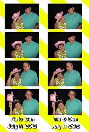 Tia and Dan's Wedding 7-11-15