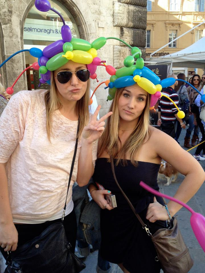 Balloon Hats!