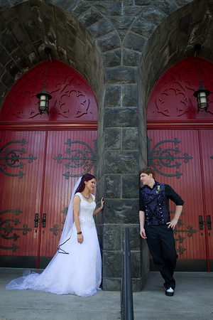 Tianna & Stephen, St. Mary's Cathedral, July 14