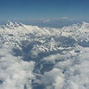 Перелет из Лхасы в Катманду в этот раз сопровождался феерической картиной Гималаев! Сначала Тибетские горы желто-красные с белыми ледниками-языками, а затем ... просто невероятно, и Эверест и Лхоцзе.. и Макалу.. и священная Гаури Шанкар отчетливо царила над облаками.. вся гряда Гималаев! И даже Дхаулагири с Аннапурной! И это еще не все. Сидел рядом со мной Сергей, который в треккинг к Эвересту собирался, так самолет так пролетел, что я Сергею весь маршрут по Соло Кхумбу показала вплоть стены Нупце и Пумори, на плече которого располагается Кала Паттар. Такого в моей жизни еще не было! Чудеса и красота!!!!