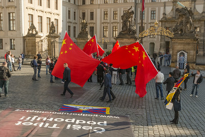 Chinese Investment Forum Prague 2014 - Demonstration