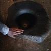 """Чернильница"""" которую использовали при написании первых монашеских прави л , составленных Гуру Ринпоче и Шантаракшитой в Самье."""