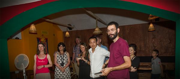 Setkání - oslava 79. narozenin J.S. Dalajlamy