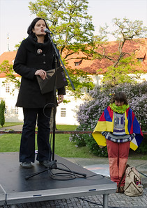 "Demonstration ""Czech support Tibet"""
