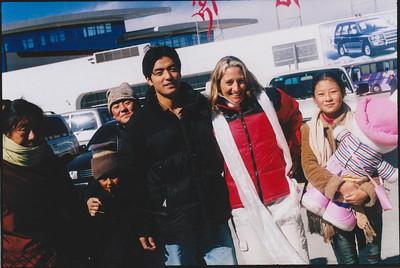Arriving Tibet