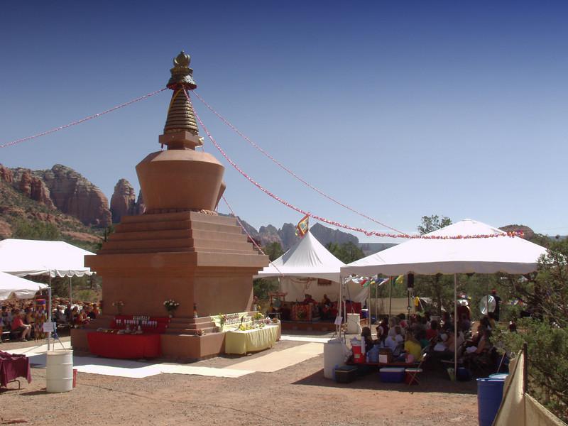 Amitabha Stupa Consecration at KPC-Sedona - 2