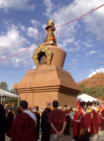 Amitabha Stupa Consecration at KPC-Sedona - 12
