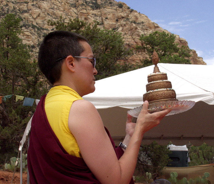 Amitabha Stupa Consecration at KPC-Sedona - 10