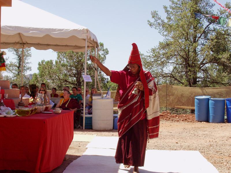 Amitabha Stupa Consecration at KPC-Sedona - 4
