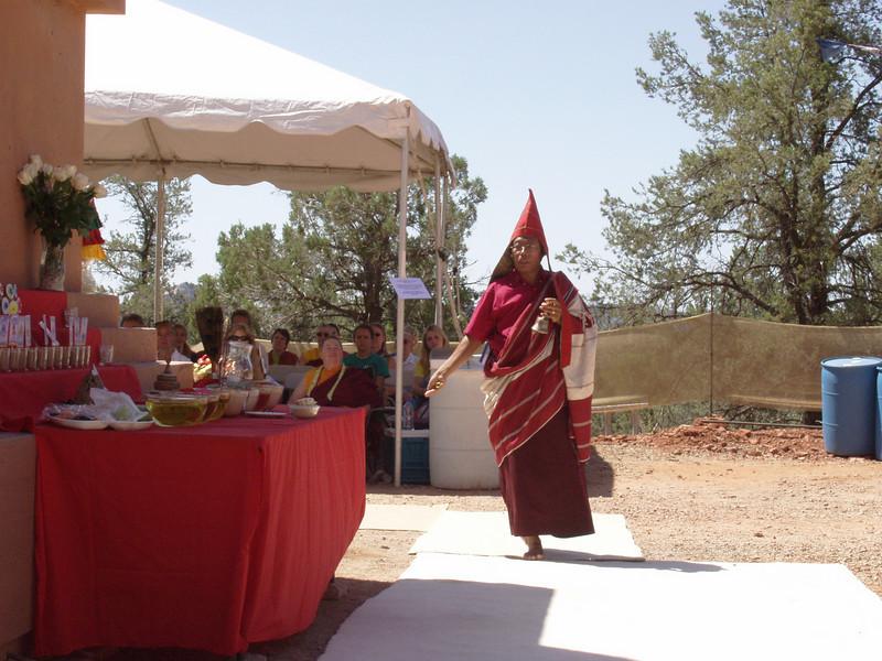 Amitabha Stupa Consecration at KPC-Sedona - 3
