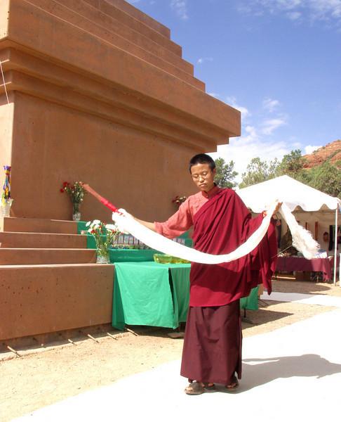 Amitabha Stupa Consecration at KPC-Sedona - 6