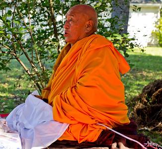 H.H. Ngawang Tenzin - 2011 Fire Puja