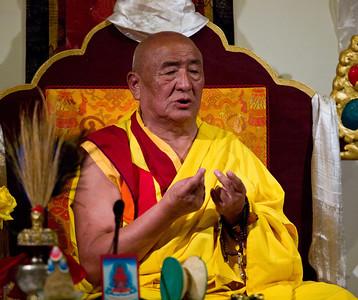 H.H. Ngawang Tenzin - 2011 Long Life Puja