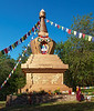 The Mugyur Dorje Stupa at KPC