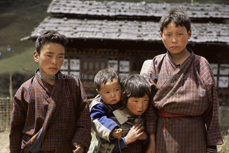 Bhutanese Siblings  - Bhutan