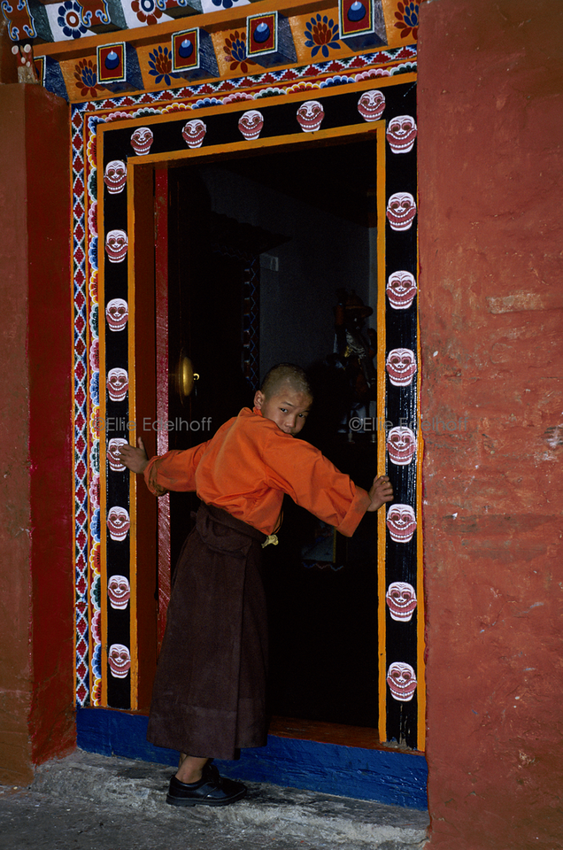 At the Threshold of Knowledge - Sikkim, India
