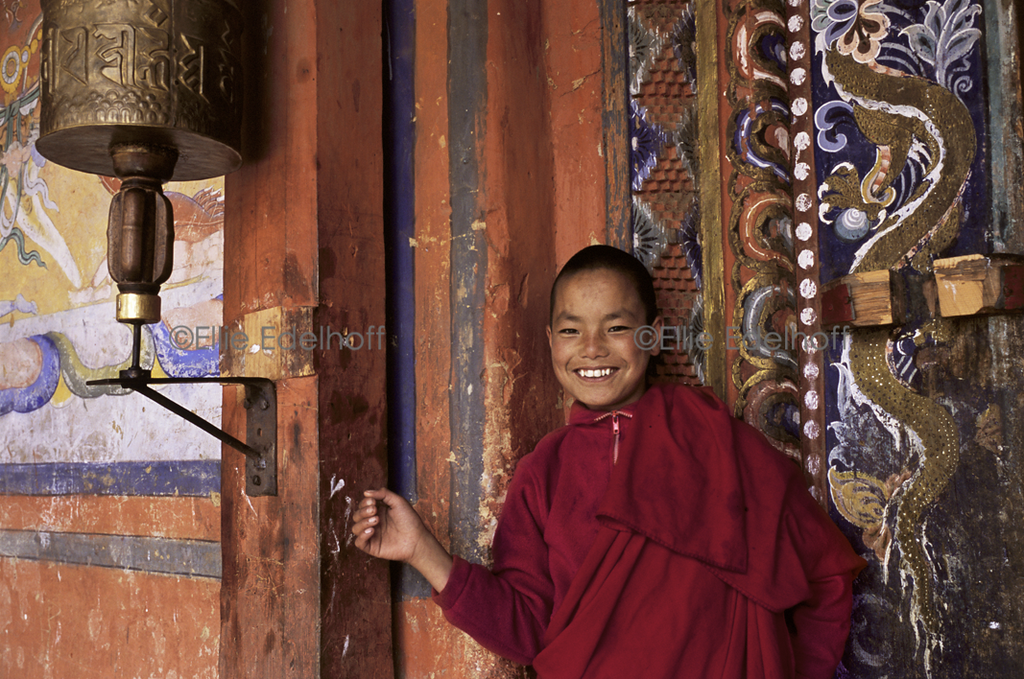 At Punaka Dzong – Bhutan